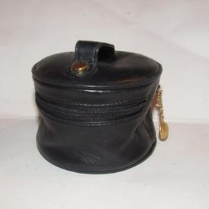 Gucci Buttery Black Train Case Cosmetic Bag